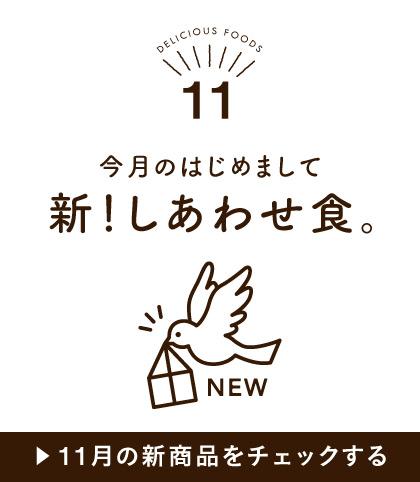 11月の新商品