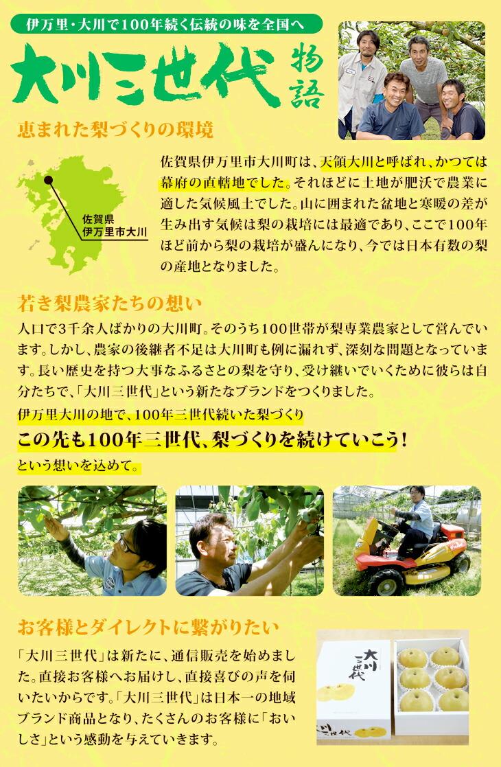 大川三世代幸太郎2.3kg