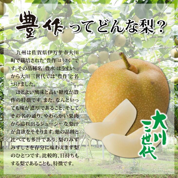 大川三世代豊作3kg