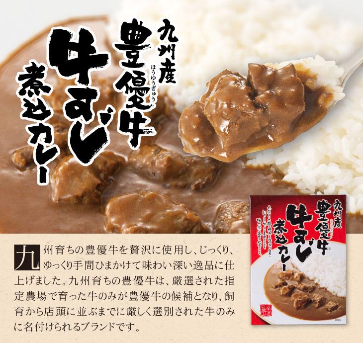 九州産豊優牛牛すじ煮込みカレー