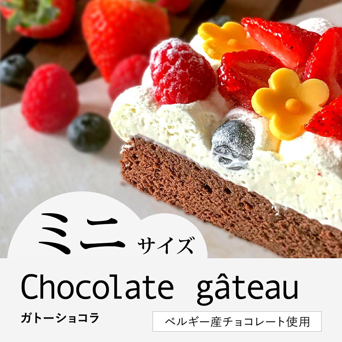 デコレーション ガトー ショコラ
