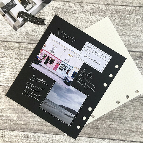 フェイバリットログズ/カラー台紙【文具女子オススメ!】