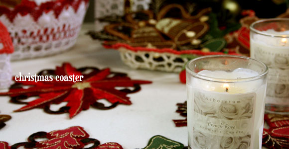 クリスマスコースター