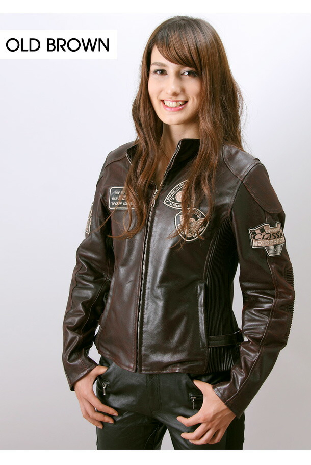 レディースバイク用品ジャケット