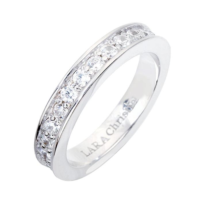 リング 指輪 シルバー LARA Christie ララクリスティー フォーエバー WHITE Label r3868-w