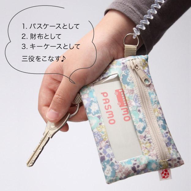 パスケース、財布、キーケースの三役