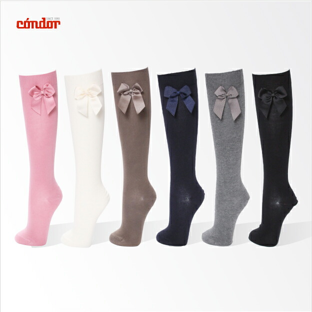 condor ribbon hi socks