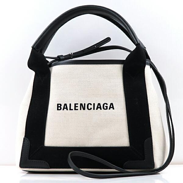 BALENCIAGA バレンシアガ NAVY CABAS XS AJ ショルダーバッグ 390346/AQ38N