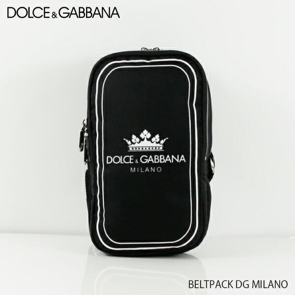 DOLCE&GABBANA ドルチェ&ガッバーナ BELTPACK DG MILANO BM1563 AS658