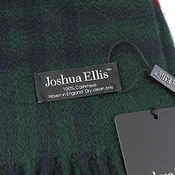 Joshua Ellis ジョシュアエリス Cashmere Stoles Ripple Finish カシミアストール 大判ストール ターターンチェック