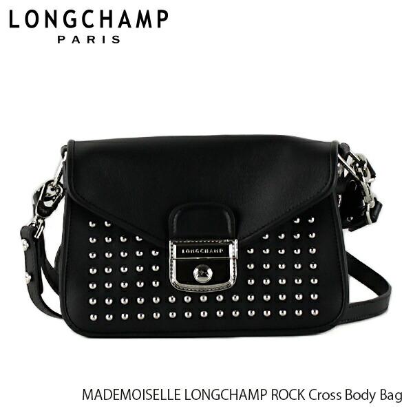 LONGCHAMP ロンシャン MADEMOISELLE LONGCHAMP ROCK Cross Body Bag 2038 HLV