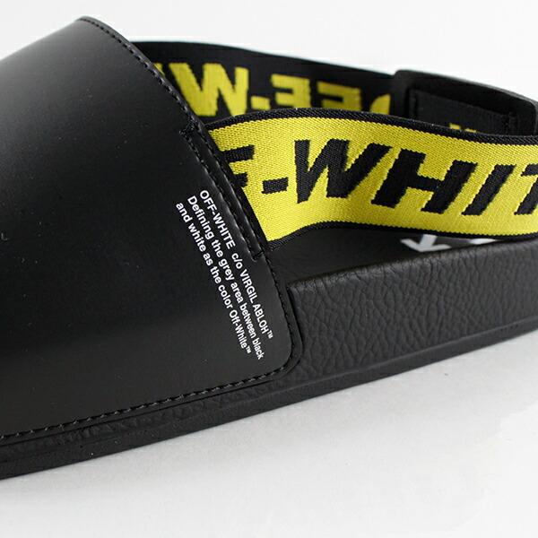Off-White オフホワイト INDUSTRIAL BACK STRAP サンダル OMIA111R19C22038