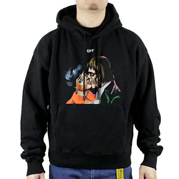 Off-White オフホワイト KISS OVER HOODIE OMBB037R19B97003
