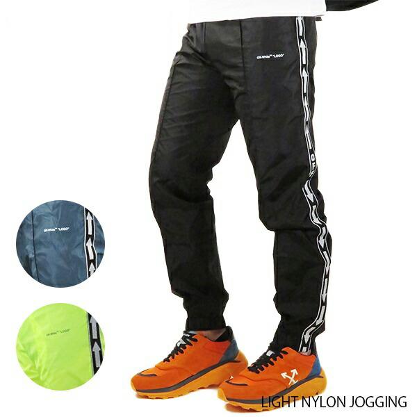 Off-White オフホワイト LIGHT NYLON JOGGINGOMCA090S19A23001(OMCA090S19D16001)