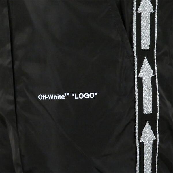 Off-White オフホワイト LIGHT NYLON JOGGINGオフホワイト ナイロンパンツ トラックパンツ ジョガーパンツ OMCA090S19A23001(OMCA090S19D16001)