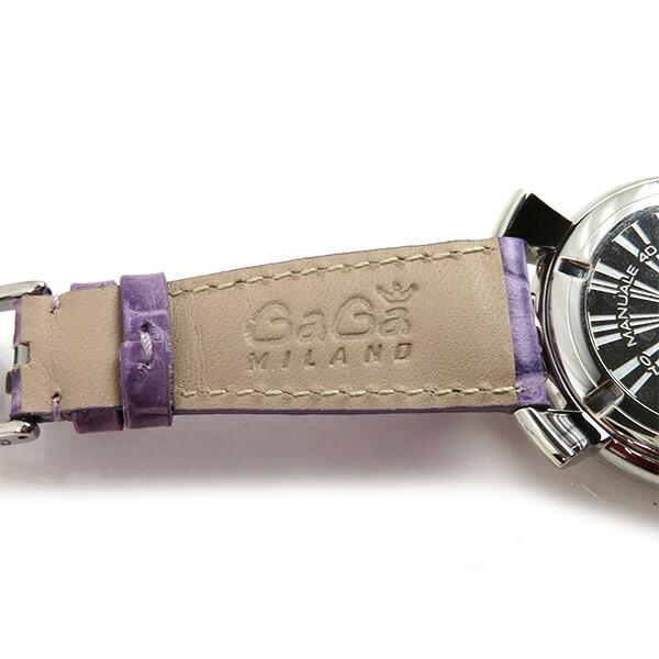 GaGa MILANO ガガ ミラノ Manuale 40MM Acciaio アウトレット 訳あり ガガ ミラノ 腕時計 5020.7