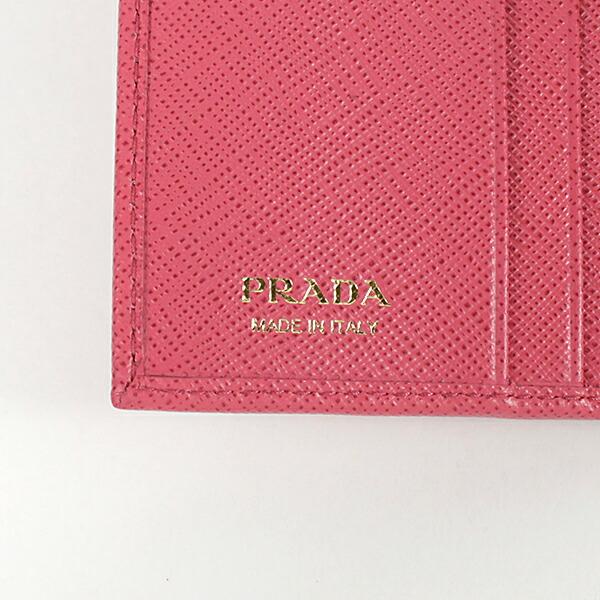 PRADA プラダ Saffiano Metal 2つ折り財布 ウォレット 1MH523/QWA