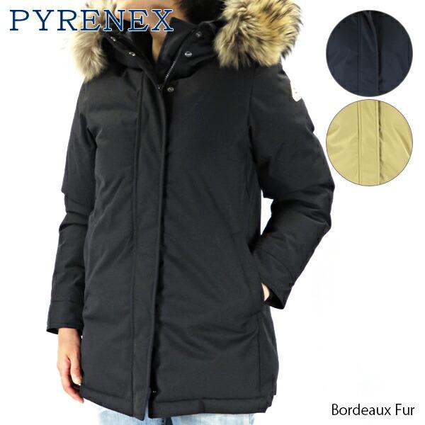 Pyrenex ピレネックス Bordeaux Fur HWM048