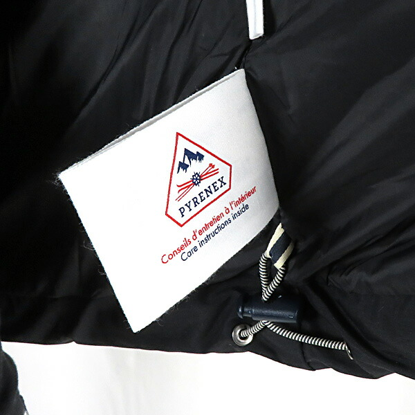 PYRENEX ピレネックス Spoutnic Mat スプートニック マット ダウンジャケット 長袖 撥水加工 メンズ HMO009
