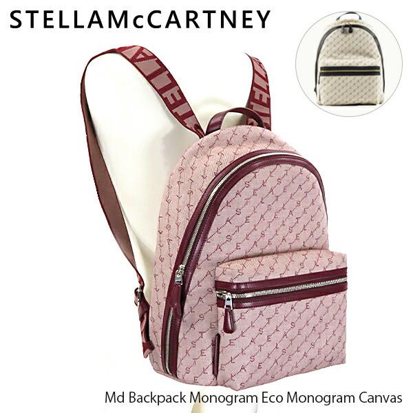 STELLA McCARTNEY ステラマッカートニー Md Backpack Monogram Eco Monogram Canvas 581295W8437