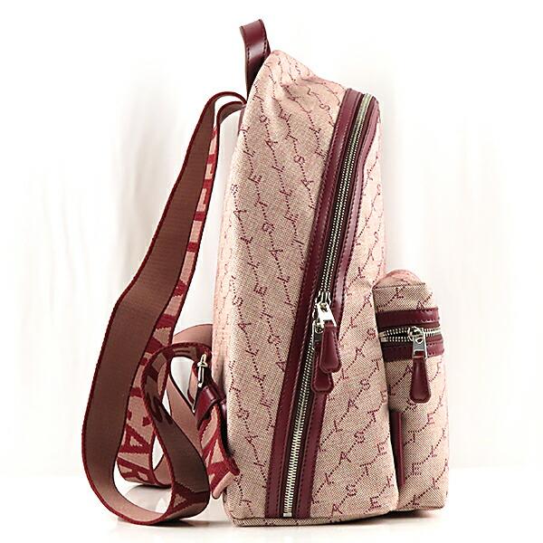 STELLA McCARTNEY ステラマッカートニー Md Backpack Monogram Eco Monogram Canvas リュックサック バックパック 581295W8437