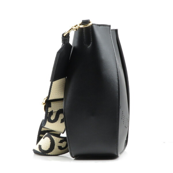 STELLA McCARTNEY ステラマッカートニー Stella Logo Shoulder Bag ステラ ロゴベルト ショルダーバッグ スクエア クロスボディ レディース 700073W8542