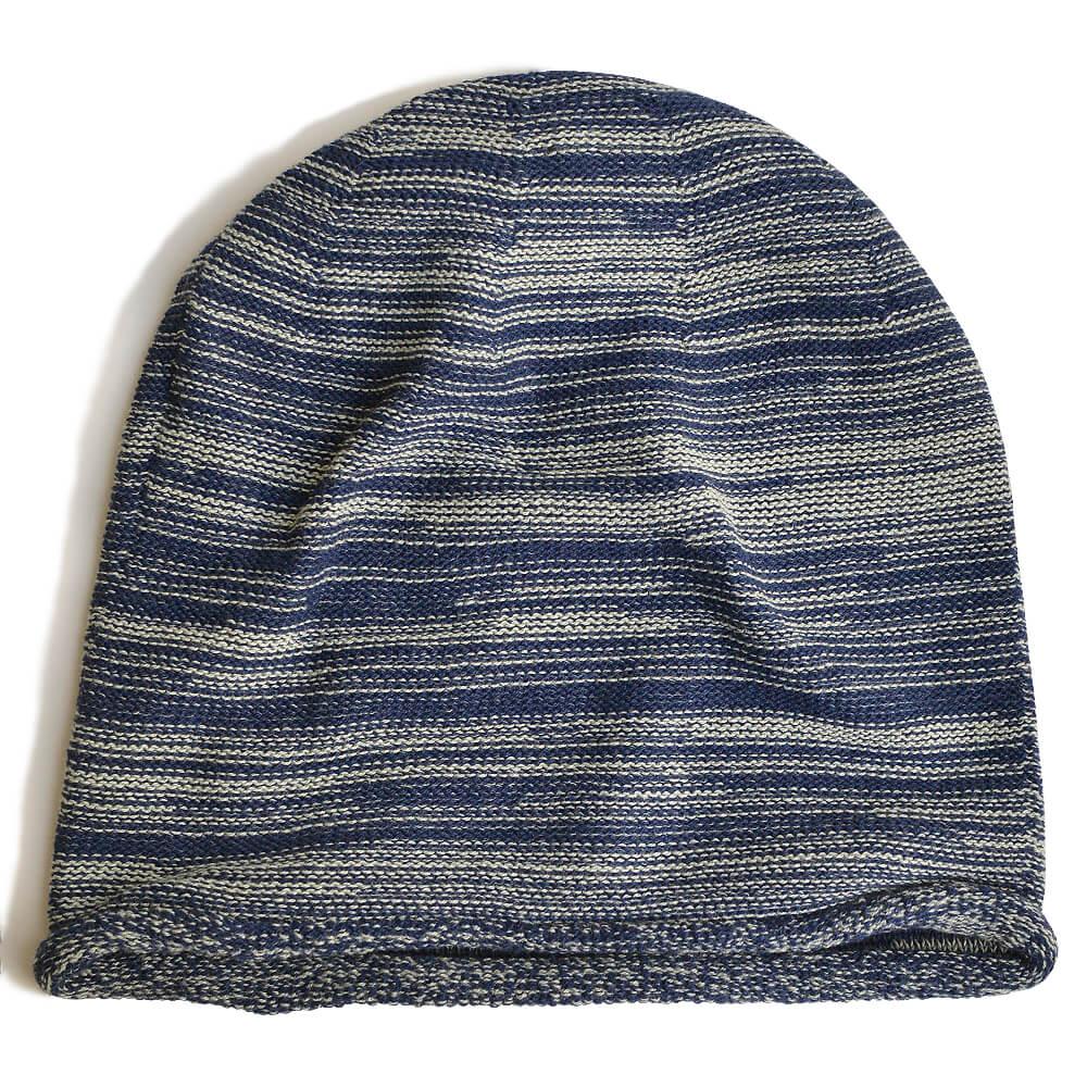 nakotaの帽子/ニット帽 ミックスネイビー(16)