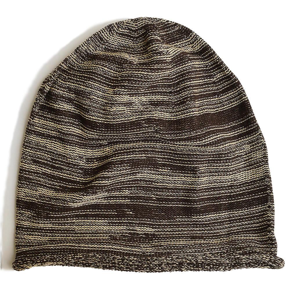nakotaの帽子/ニット帽 ミックスブラウン(25)
