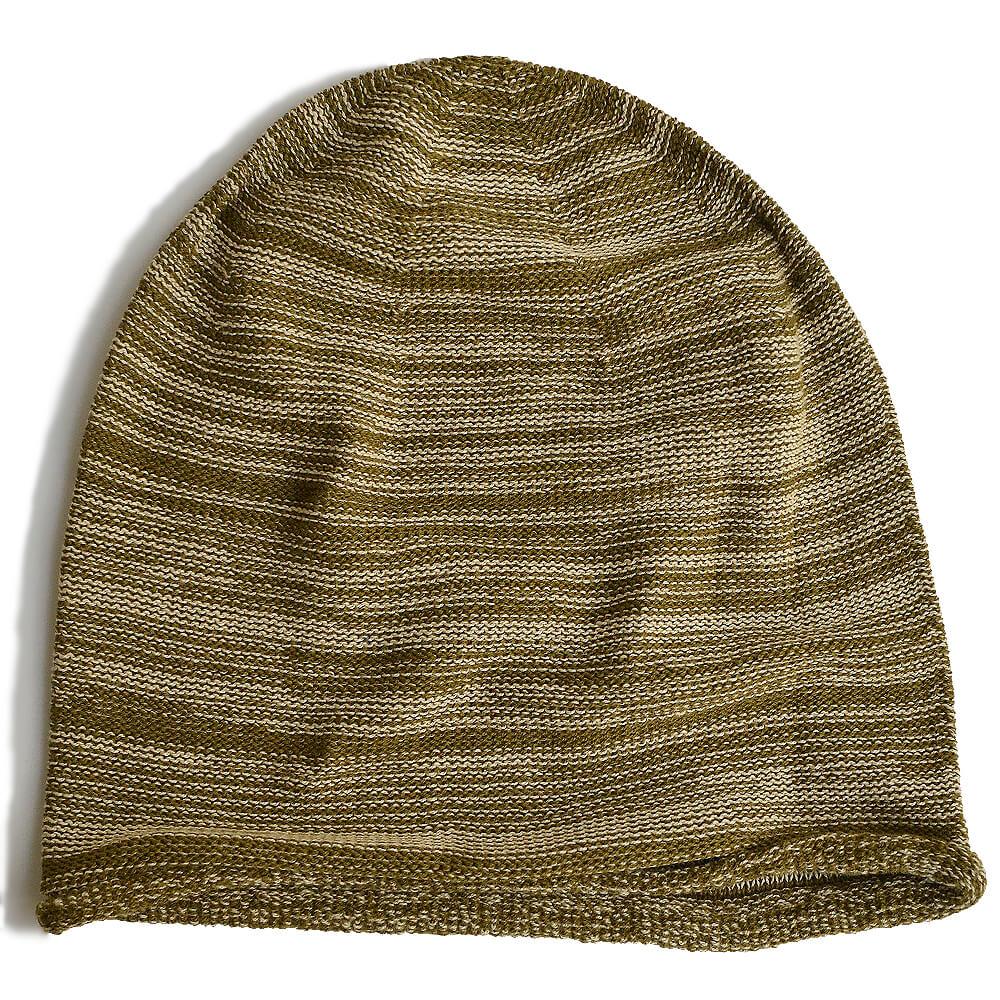 nakotaの帽子/ニット帽 ミックスグリーン(36)