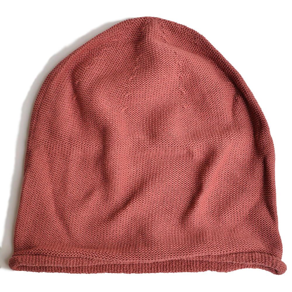 nakotaの帽子/ニット帽 スモークピンク(44)