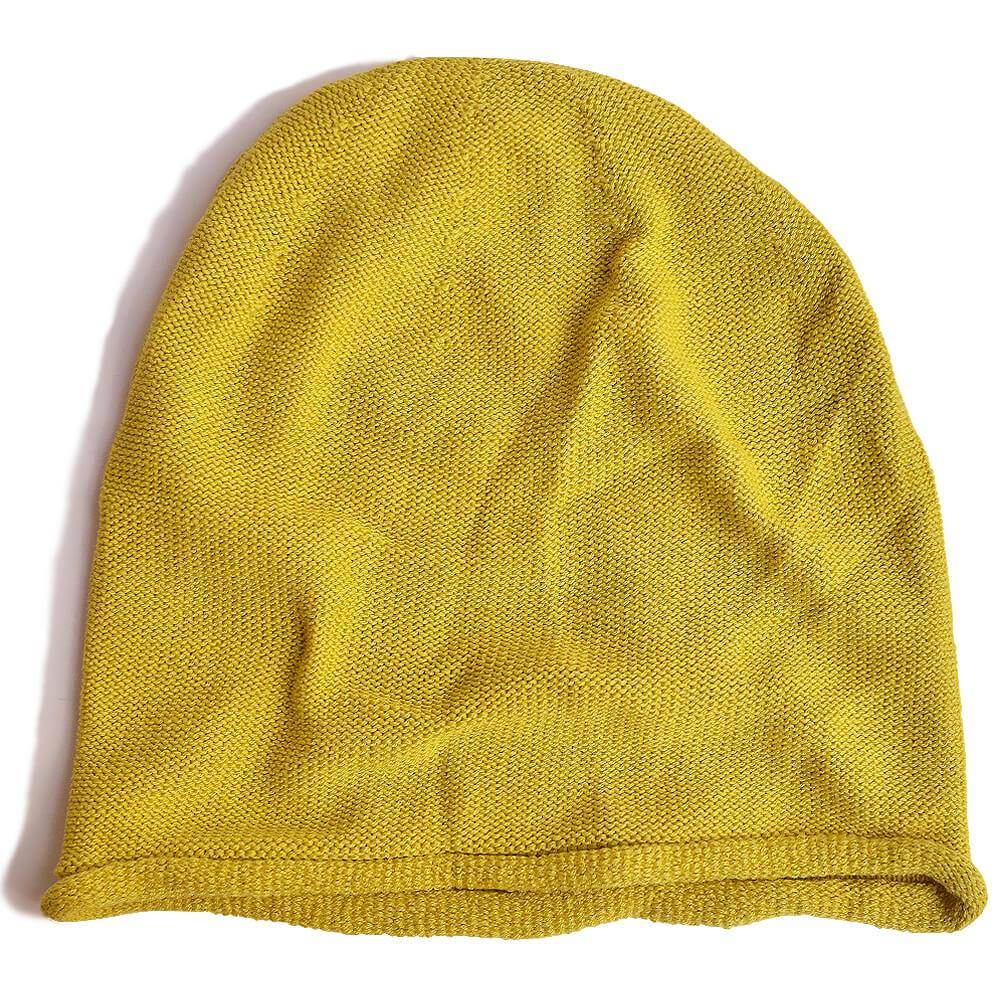 nakotaの帽子/ニット帽 イエロー(51)