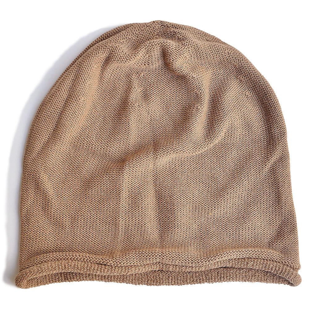 nakotaの帽子/ニット帽 ダークベージュ(74)