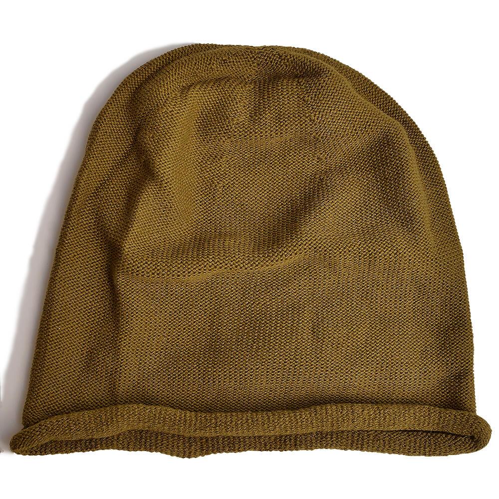 nakotaの帽子/ニット帽 カーキ(75)