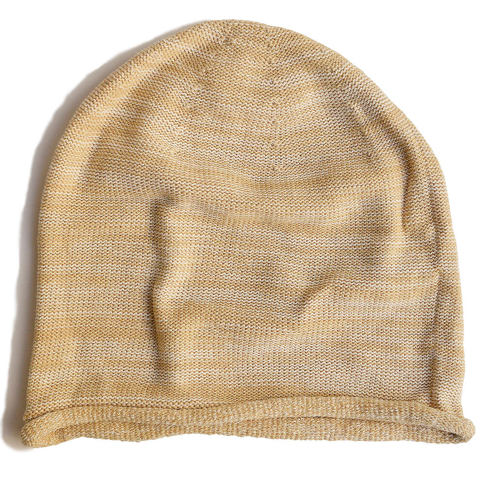 nakotaの帽子/ニット帽 ミックスベージュ(76)