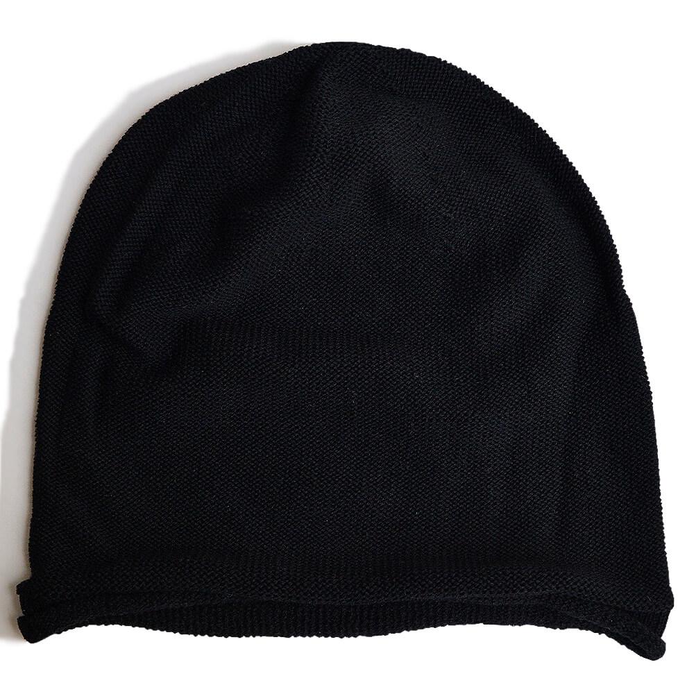 nakotaの帽子/ニット帽 ブラック(97)