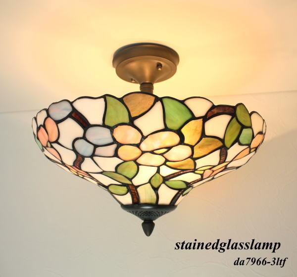 ステンドグラスシーリングランプda7966-3ltf