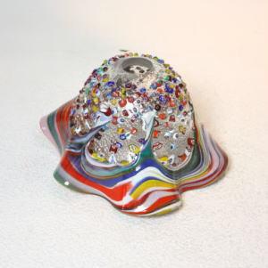 ベネチアングラスシャンデリアランプfc-621-fantasy-smerlate-arlecchino.