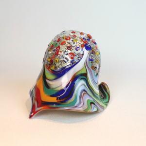 ベネチアングラスシャンデリアランプfc-621-fantasy-calla-amethyst