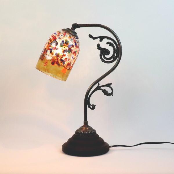 テーブルランプfc-600a-fantasy-goto-amber