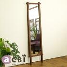 アジアン家具 ミラー モダン チーク 木製 北欧 インテリア デザイナーズ  姿見 全身鏡