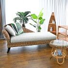 アジアン家具 インテリア 安い バナナリーフ カウチ ソファー 160cm幅