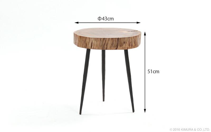 KLUB14(クラブ14)インダストリアル、工業スタイルな無骨でアンティークな趣のかっこいいおしゃれなサイドテーブルです。