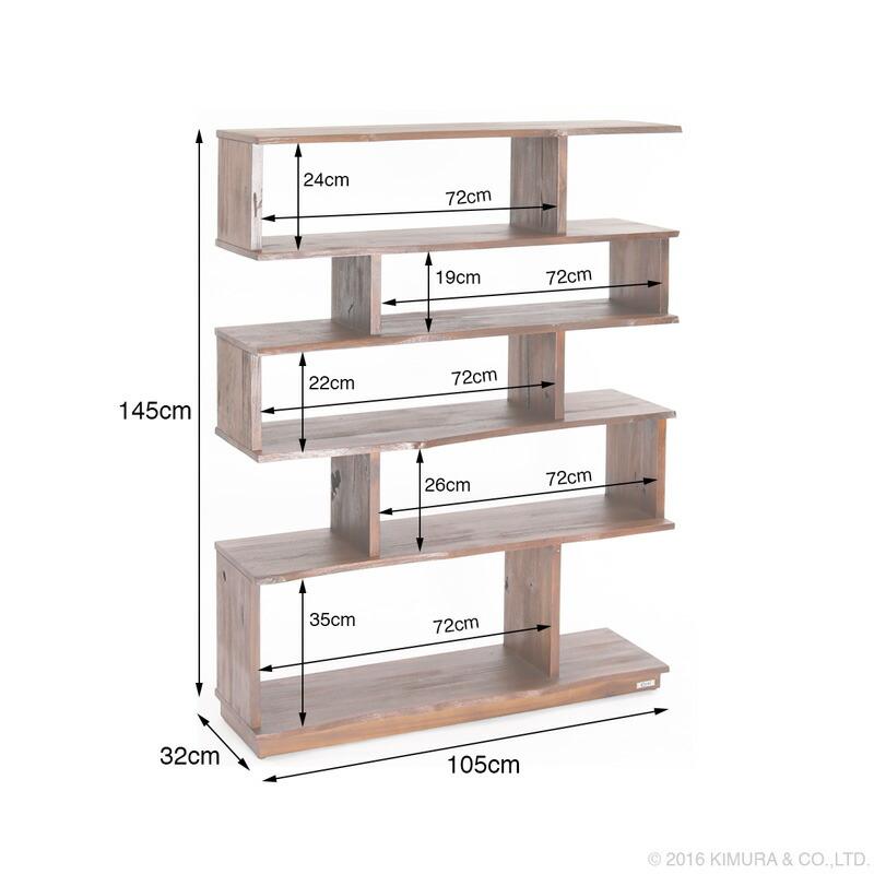 アジアン家具アクビィacbiチーク無垢木を贅沢に使用した収納棚