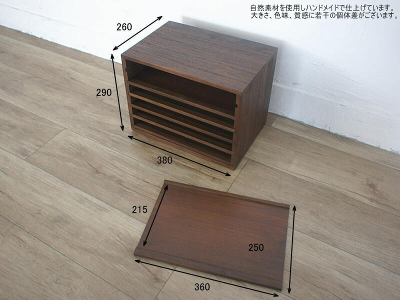 こだわりの木製家具。使うほどヴィンテージな趣に。