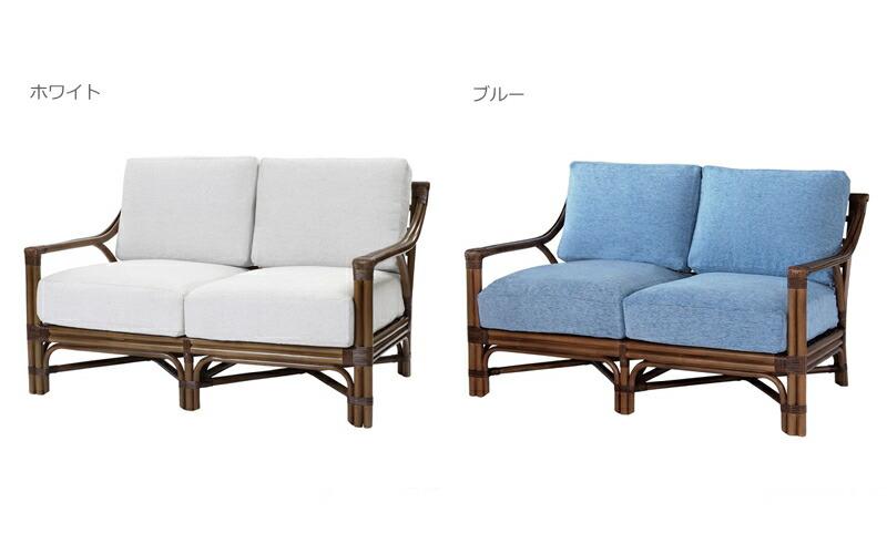 選べる3カラー二人用ソファ