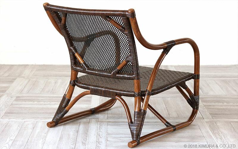 籐、ラタン製の椅子、チェア