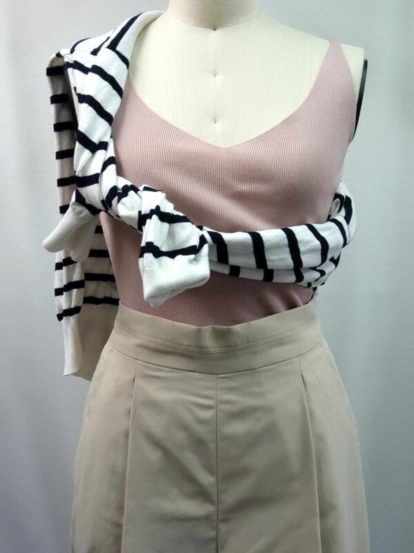 レディースファッション LASTNOTEのニットキャミソール 楽天市場