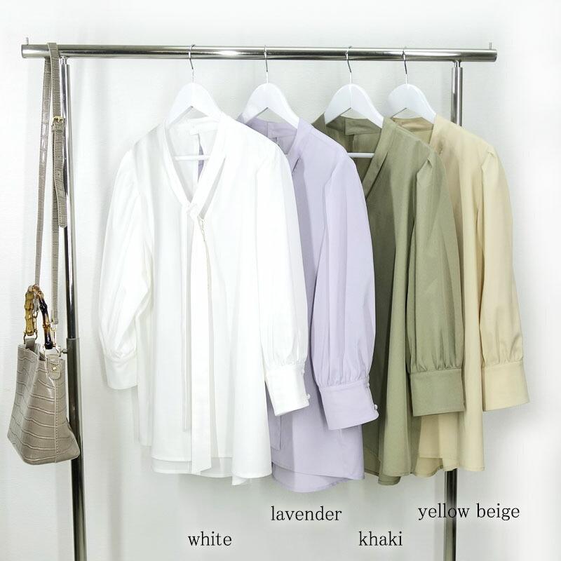 レディースファッション LASTNOTEのボウタイ ブラウス レディース 楽天市場