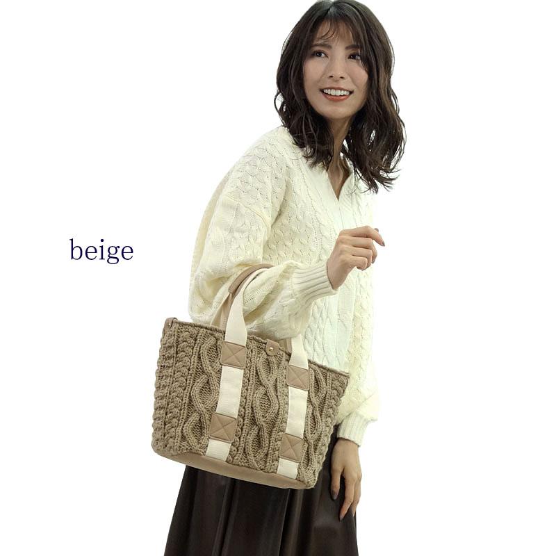 レディースファッション LASTNOTEのトートバッグ ニット 楽天市場