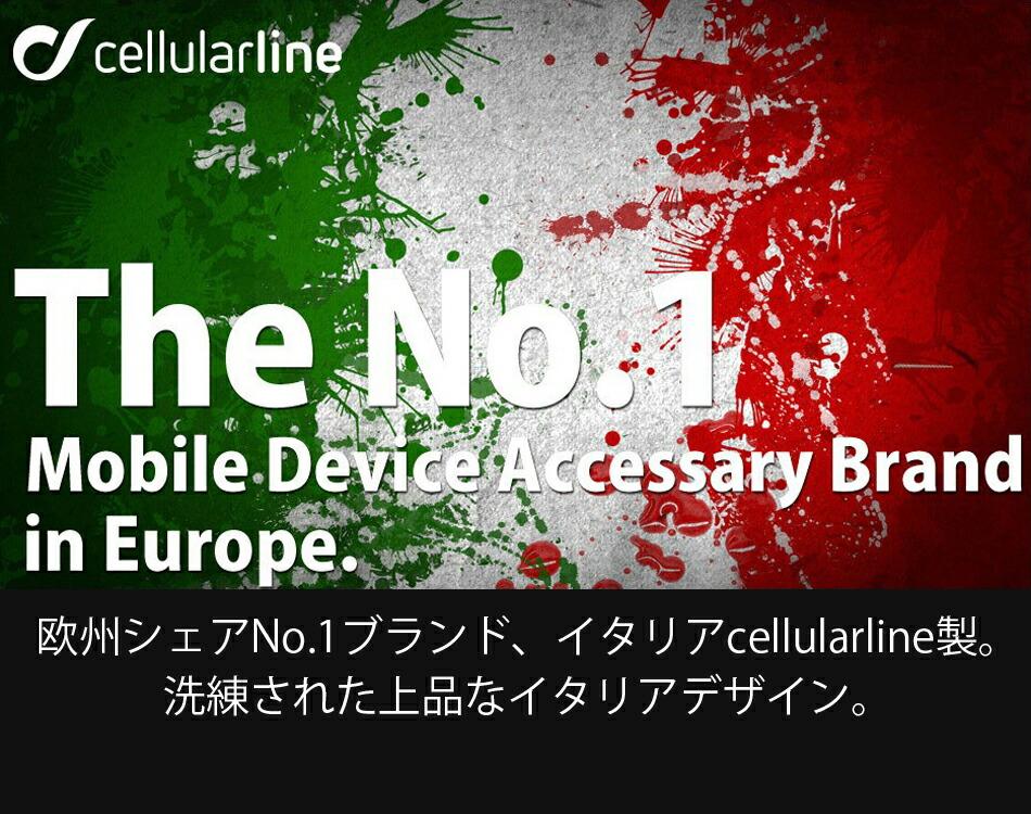 欧州シェアNo.1ブランド、イタリアCellularline製。洗練された上品なイタリアデザイン。